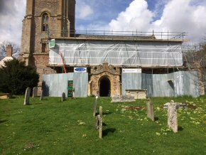 St Augustine Church, West Monkton - Conservation and temporary roof works (2 photos)